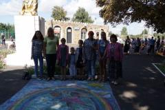 Городской смотр коллективного рисунка на асфальте «Мой город – дом, где мы живем»